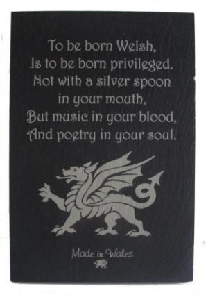 - To Be Born Welsh ( Dragon) - Welsh Gifts. One of my favorite poems ...