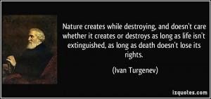 More Ivan Turgenev Quotes