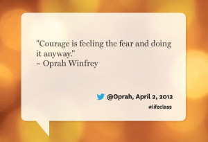 Oprah quote from Oprah's Lifeclass: the Tour - #Oprah, #TamirFilms