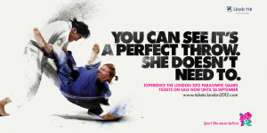 Judo the only combat sport in the Paralympic program. 30 August - 1 ...