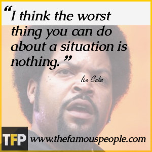 Ice Cube Funny Quotes