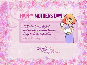 Heart Touching And Very Impressive Happy Mothers Day Quotes