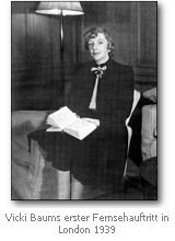 Vicki Baum Biography