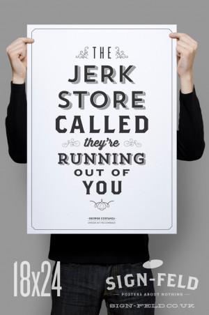 Jerk Store Poster 11x17