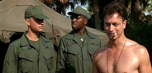 Forrest: Lieutenant Dan was always getting these funny feelings about ...