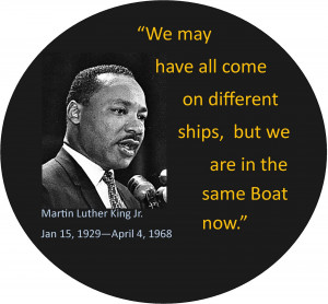 Although I was familiar with the name Martin Luther King, Jr. during ...