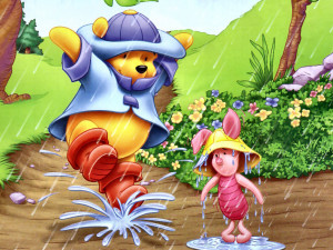 12 Winnie The Pooh 1024×768 Easter Cards Wallpaper