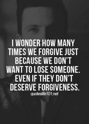 We Don't Want To Lose Someone
