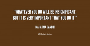 Insignificant Quotes Preview quote