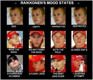 ... career , and now we're bringing you the best Kimi Raikkonen quotes