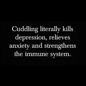 Cuddle me.