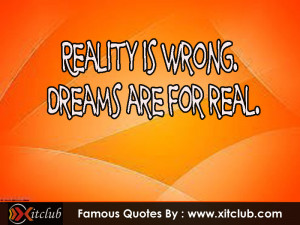 Most Famous Dream Quotes
