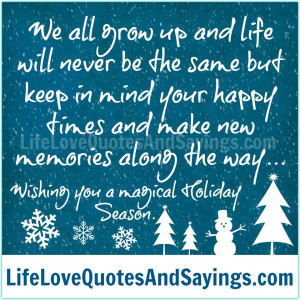 Love You Mom Quotes And Sayings Wishing you a magical holiday