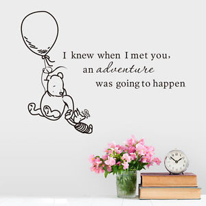 -Winnie-the-Pooh-Happen-Baby-Bear-Live-Fly-Vinyl-Decal-Wall-Quote ...