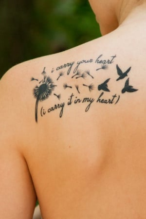 Tattoo in memory of my mother