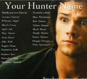 My hunter name is Doctor Demon