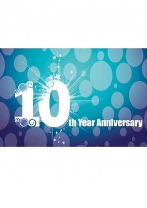 10 Year Work Anniversary Congratulations Print-design-year-completion-
