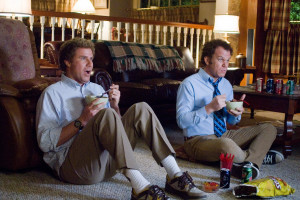 ... Dale Doback (right) in Columbia Pictures' comedy STEP BROTHERS (2008
