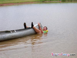 Funny Canoeing