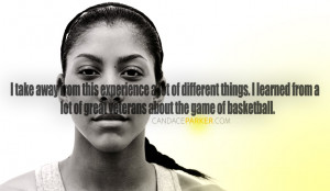 Candace Parker Quote 1 by chelseaaragon