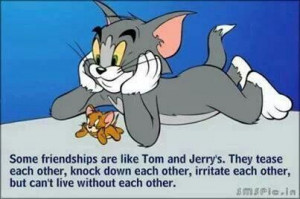 Tom & Jerry's friendship