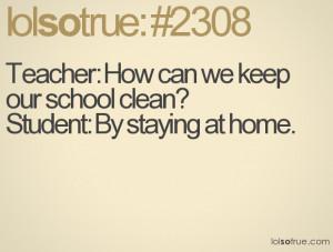 School Quotes, Funny School Quotes, Facebook Quotes, Tumblr Quotes ...