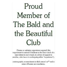 The Bald & Beautiful ... Poster