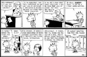 Calvin - The contract boy