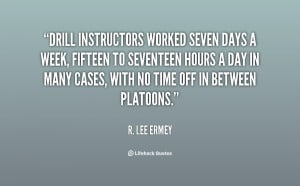 Drill Instructor Quotes