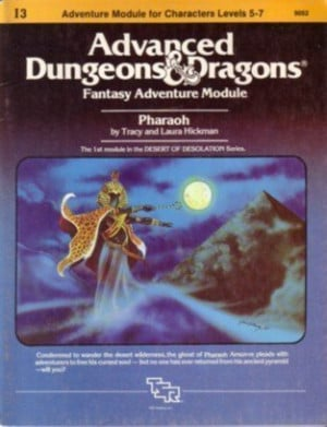 Pharaoh: Advanced Dungeons and Dragons, Fantasy Adventure Module