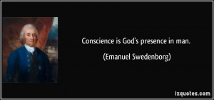 Presence of God Quotes Conscience is God 39 s Presence