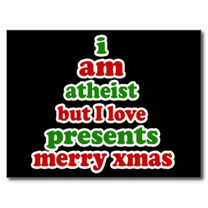 Atheist Christmas Postcards