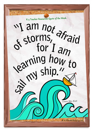 tags i am not afraid of storms quote childrens quotes