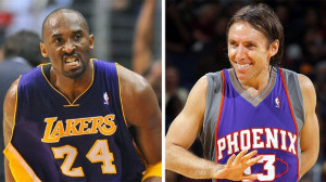 Steve Nash and Kobe Bryant, contrasts in leadership
