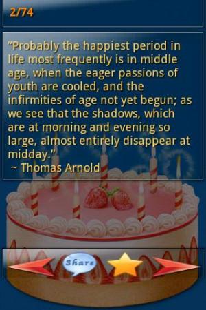 Birthday Quotes and Sayings - screenshot