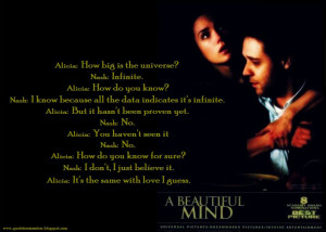 Love A Beautiful Mind Quotes