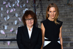 Ingrid Sischy Sandra Brant Guests at the Vanity Fair Party in NYC