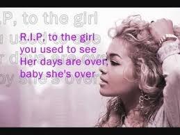 Rita Ora - R.I.P. Lyrics | MetroLyrics
