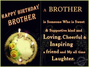 brothers birthday quotes happy birthday brother quotes brothers ...