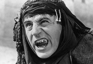 Terry Jones as Brian's mother in Monty Python's Life of Brian