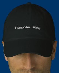 Humanae Vitae Embroidered Baseball Cap