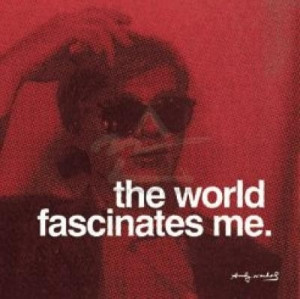 andy, andy warhol, art, pop art, quotes, typography, warhol, words