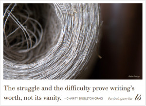 On Being a Writer quotes