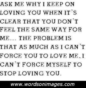 Love sick quotes