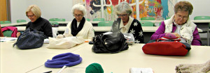The Knitting Group: Wednesdays, 1:30 - 3:30 PM