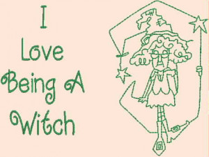 ... Stella & Funny Halloween Sayings Redwork Machine Embroidery Designs CD