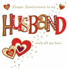 Happy Anniversary To My Husband More