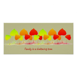 Family Quote Posters & Prints