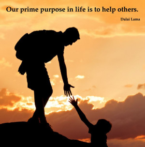 Let's lend each other a helping hand.