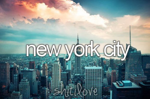 city, love, new york, quotes